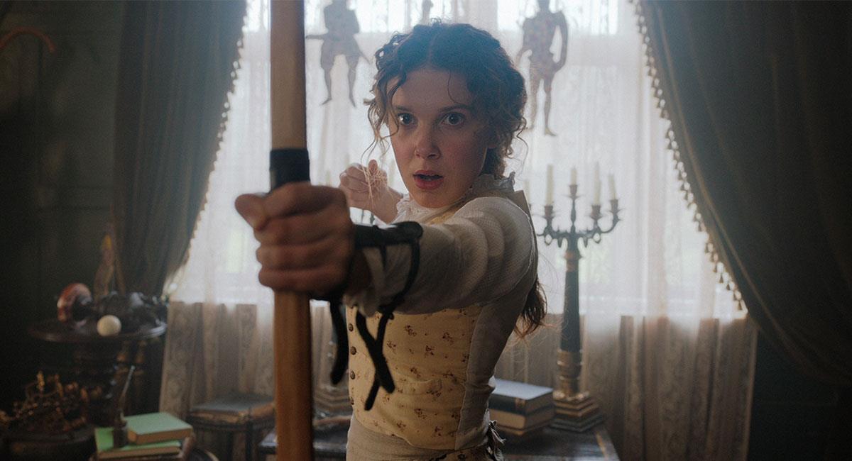 """Enola Holmes"" se estrenó en Netflix con mucho éxito en septiembre de 2020. Foto: Twitter @NetflixLAT"