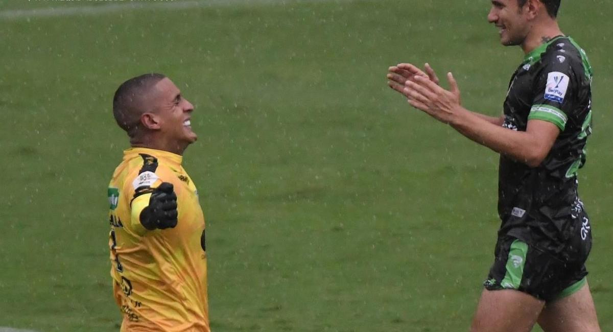 La Equidad ganó en Copa Conmebol Sudamericana. Foto: Twitter @Equidadfutbol