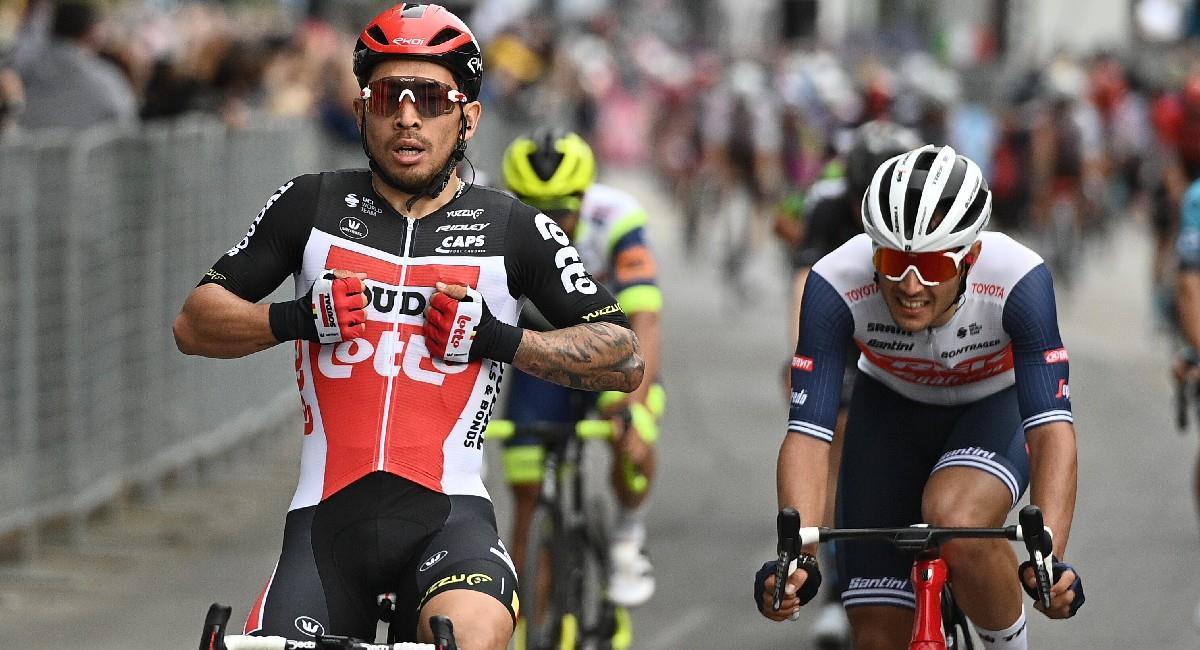 Caleb Ewan gana la etapa 7 del Giro de Italia. Foto: Twitter @giroditalia