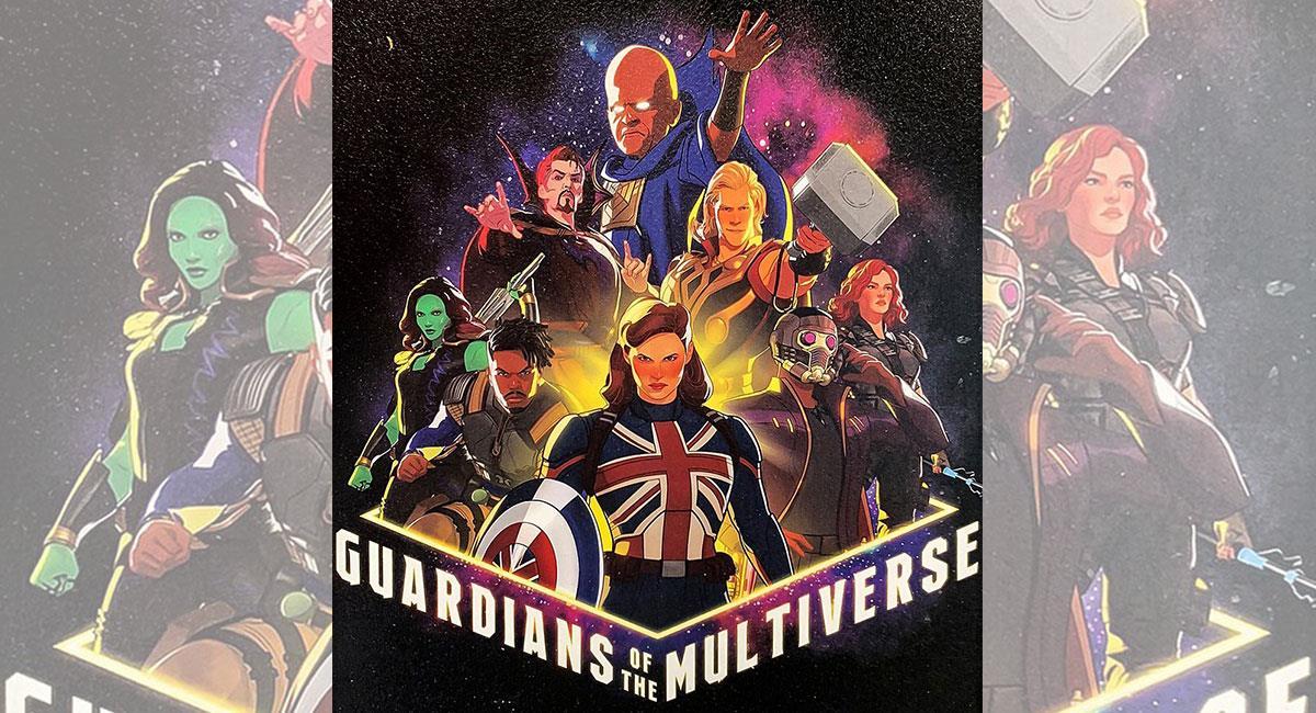 """Así lucirán algunos de los personajes de """"What If?"""" de Marvel Studios. Foto: Twitter @QuidVacuo"""