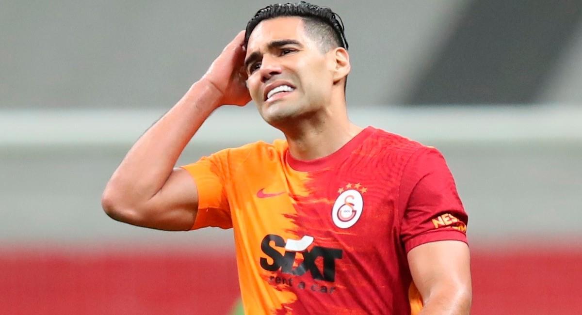 Falcao García, jugador colombiano de Galatasaray. Foto: EFE
