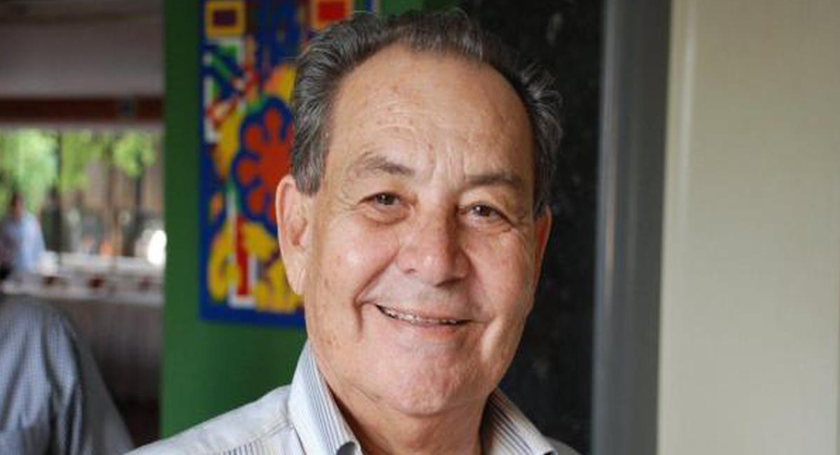 Lucas Gnecco Cerchar, político de 78 años de una tradicional dinastía de la costa Atlántica fue condenado por la Corte Suprema de Justicia por delitos cuando fue gobernador del Cesar. Foto: Twitter @El_pilon