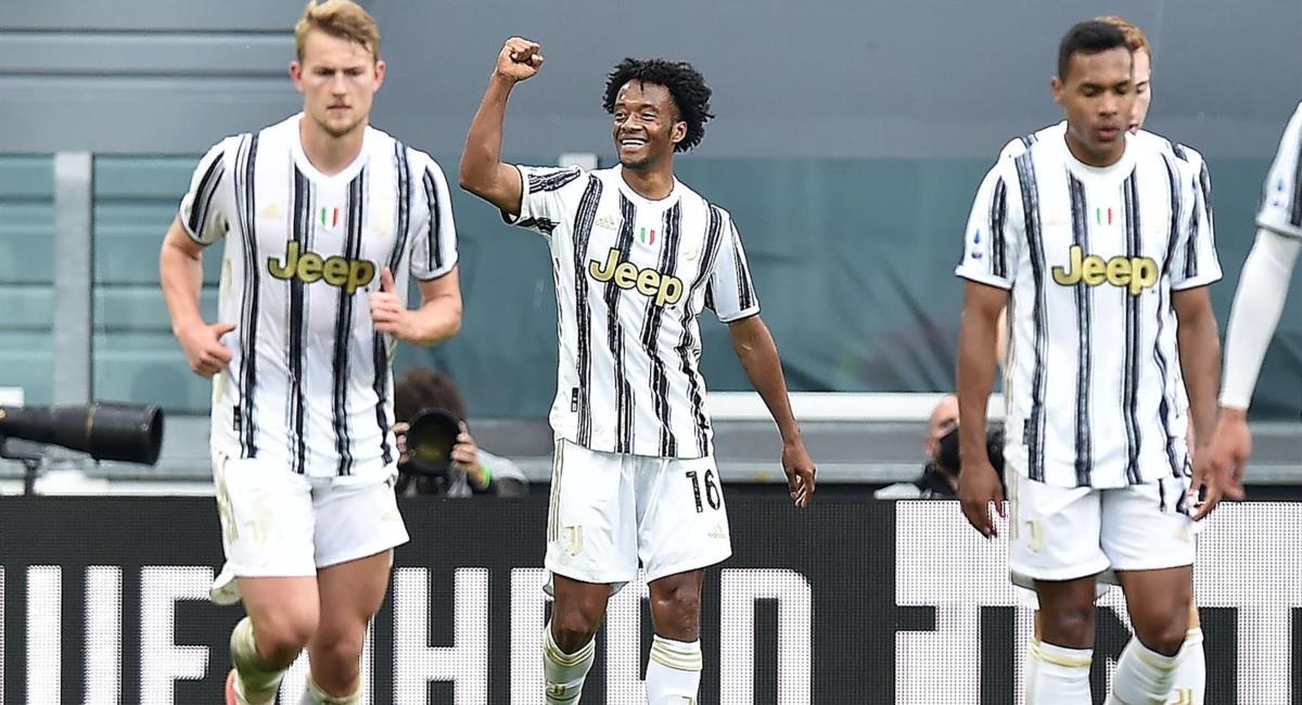 Cuadrado figura con Juventus. Foto: EFE