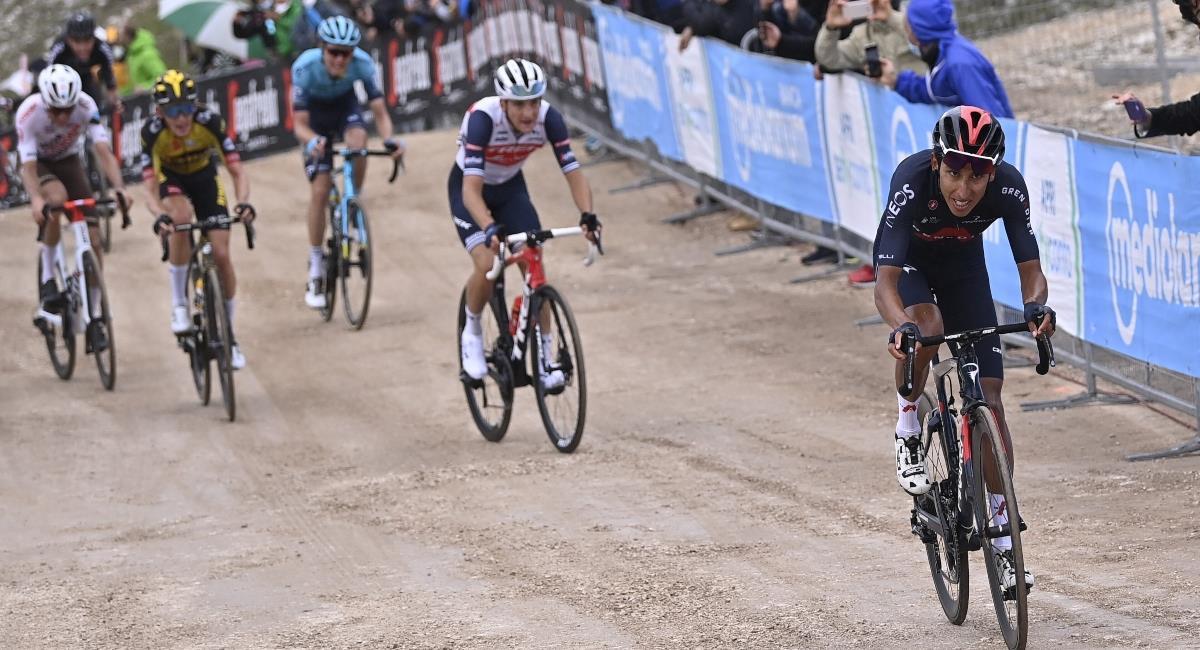 Giro de Italia en vivo. Foto: Twitter Prensa redes Giro de Italia.