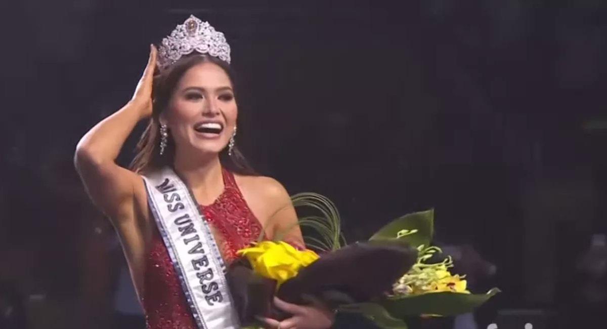 Andre Meza, nueva Miss Universo. Foto: Twitter @min_sugaseok