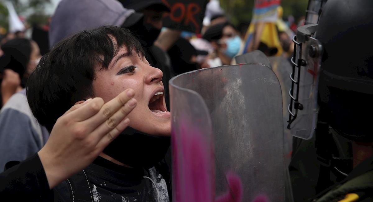 Investigaciones contra abuso policial y violación de derechos humanos. Foto: EFE