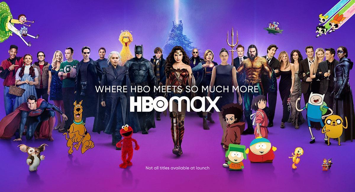 HBO Max llegará a mitad de 2021 a Colombia y el resto de Latinoamérica. Foto: Twitter @hbomax