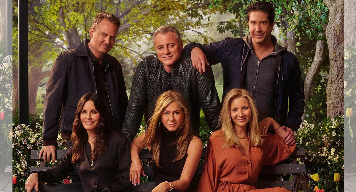 """Así lucen los protagonistas de """"Friends"""" a 17 años de su último episodio. Foto: Twitter @hbomax"""