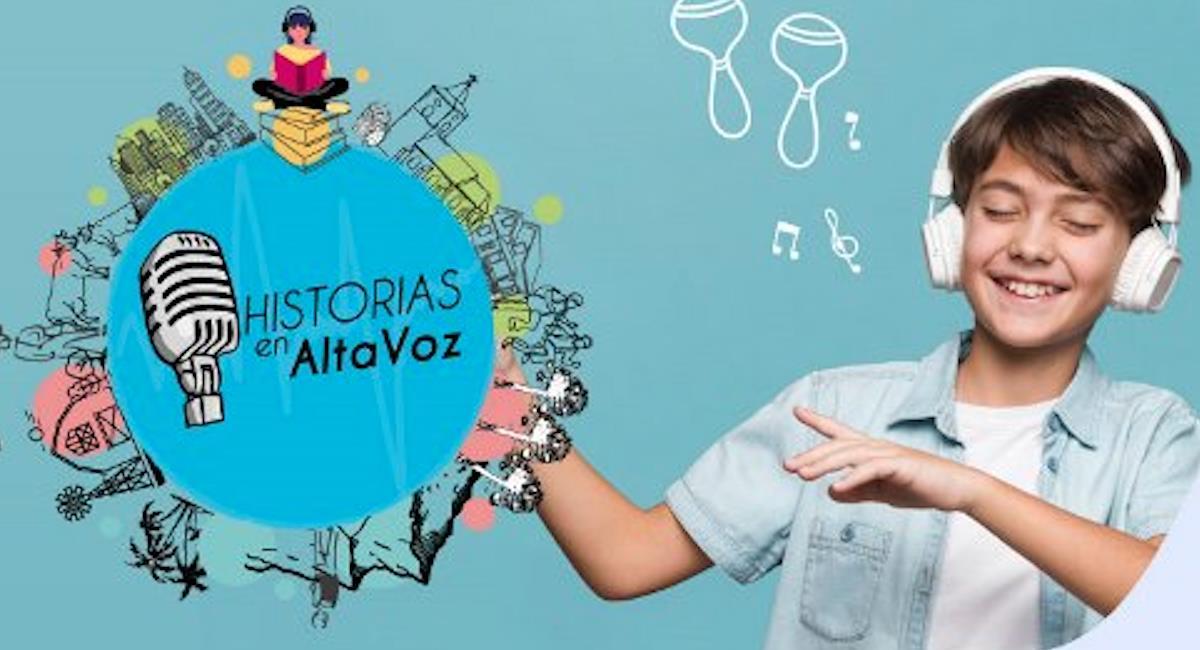 Llega la segunda temporada de 'Historias en Altavoz'. Foto: Ministerio de Educación