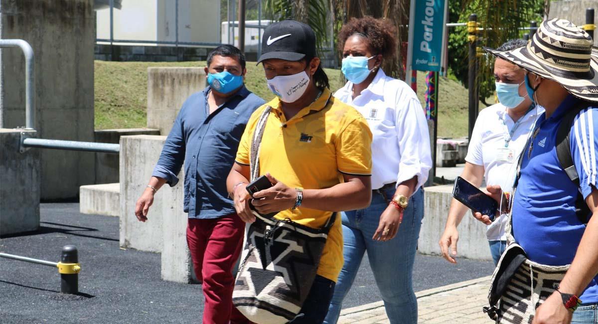 El tapabocas aún es un recurso crucial en medio de la pandemia. Foto: Twitter / @AlcaldiadeMed