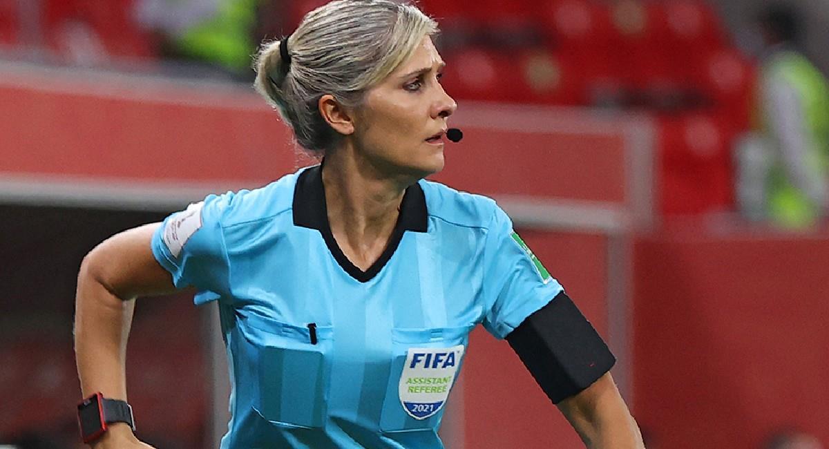 Cuatro mujeres árbitro estarán en el partido Defensa y Justicia vs. Independiente del Valle por Conmebol Libertadores. Foto: Twitter @Conmebol