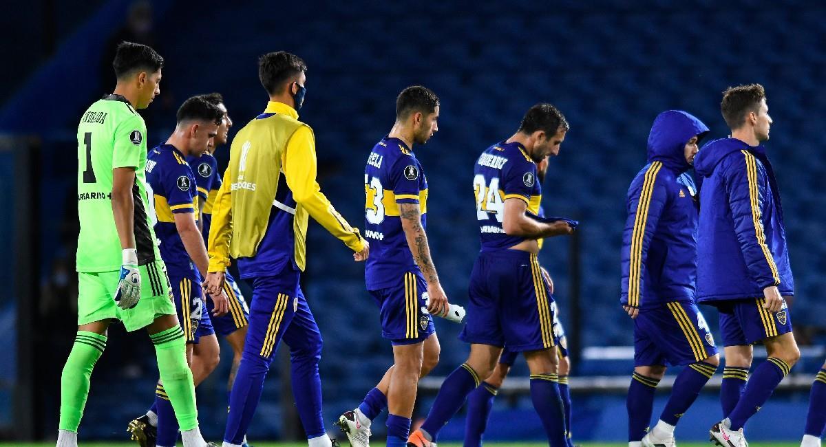 Boca Juniors igualó sin goles ante Barcelona de Ecuador. Foto: EFE