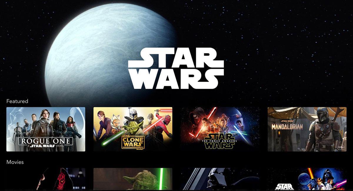 """""""Star Wars"""" tiene pensado estrenar varias producciones en los años venideros. Foto: Twitter @starwars"""