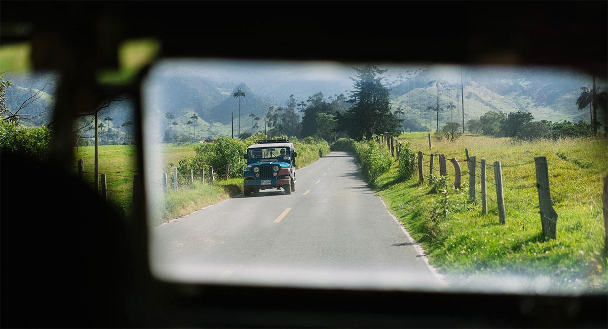 La hermosa Colombia por carretera. Foto: Unsplash