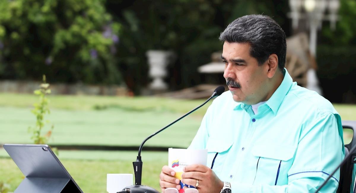 Maduro asegura que Colombia quiere llevar las nuevas cepas a Venezuela. Foto: EFE