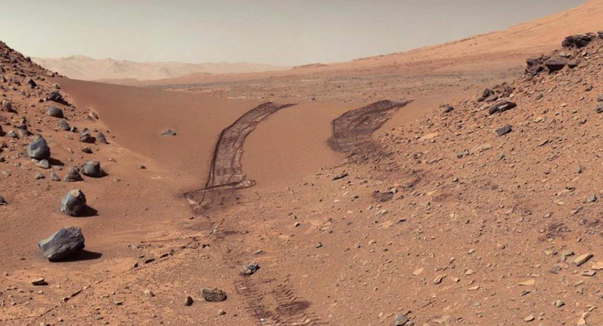 Los exploradores han servido para poder identificar estas nuevas características de Marte. Foto: Twitter @NASA