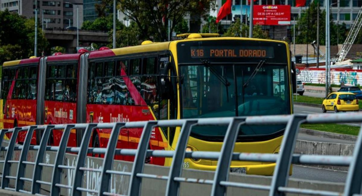 Transmilenio presenta afectaciones en 54 estaciones. Foto: Alcaldía de Bogotá