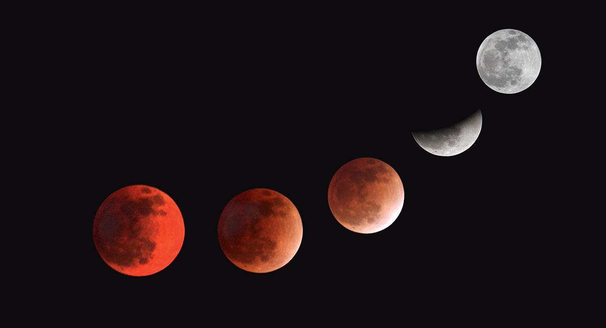 2 increíbles rituales para hacer en el eclipse de la 'Luna de Sangre'. Foto: Shutterstock
