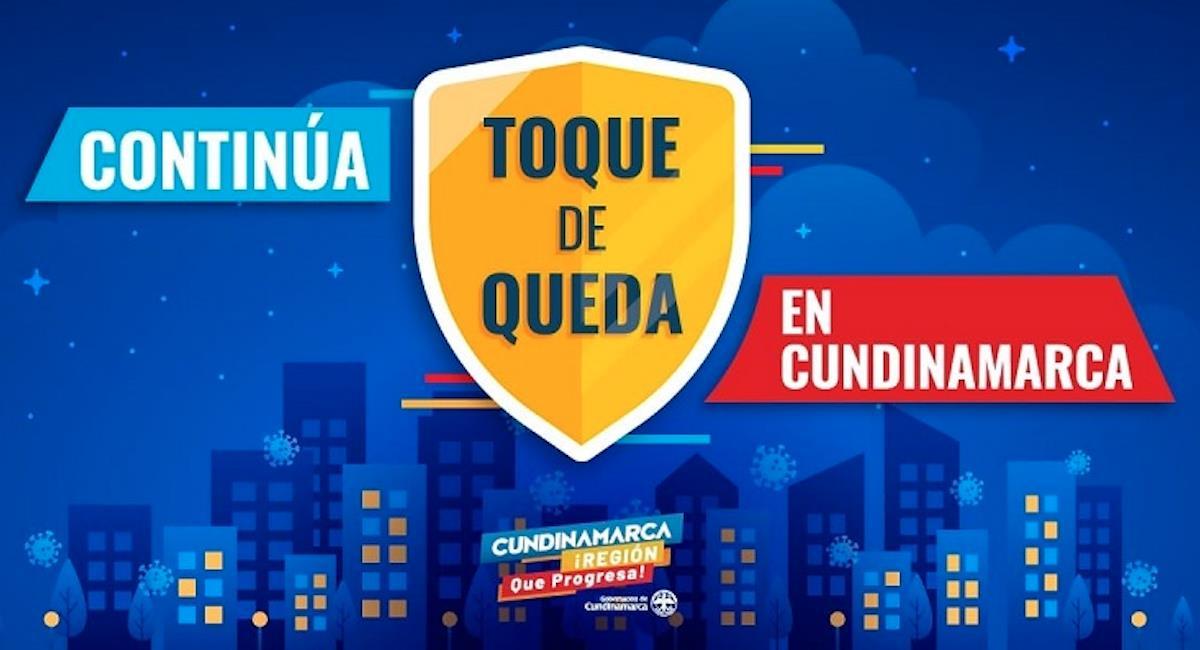 Cundinamarca entra en nuevo toque de queda. Foto: Gobernación de Cundinamarca