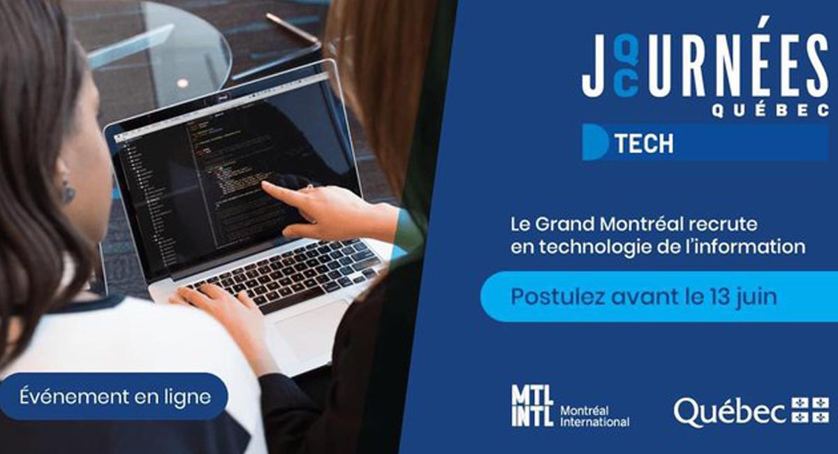 El gobierno de la provincia de Quebec en Canadá ofrece vacantes para profesionales en tecnología. Foto: Twitter @QuebecMX