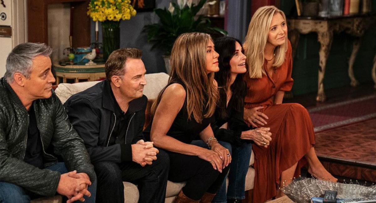 """El reencuentro del elenco de """"Friends"""" es esperado por muchos. Foto: Twitter @hbomax"""