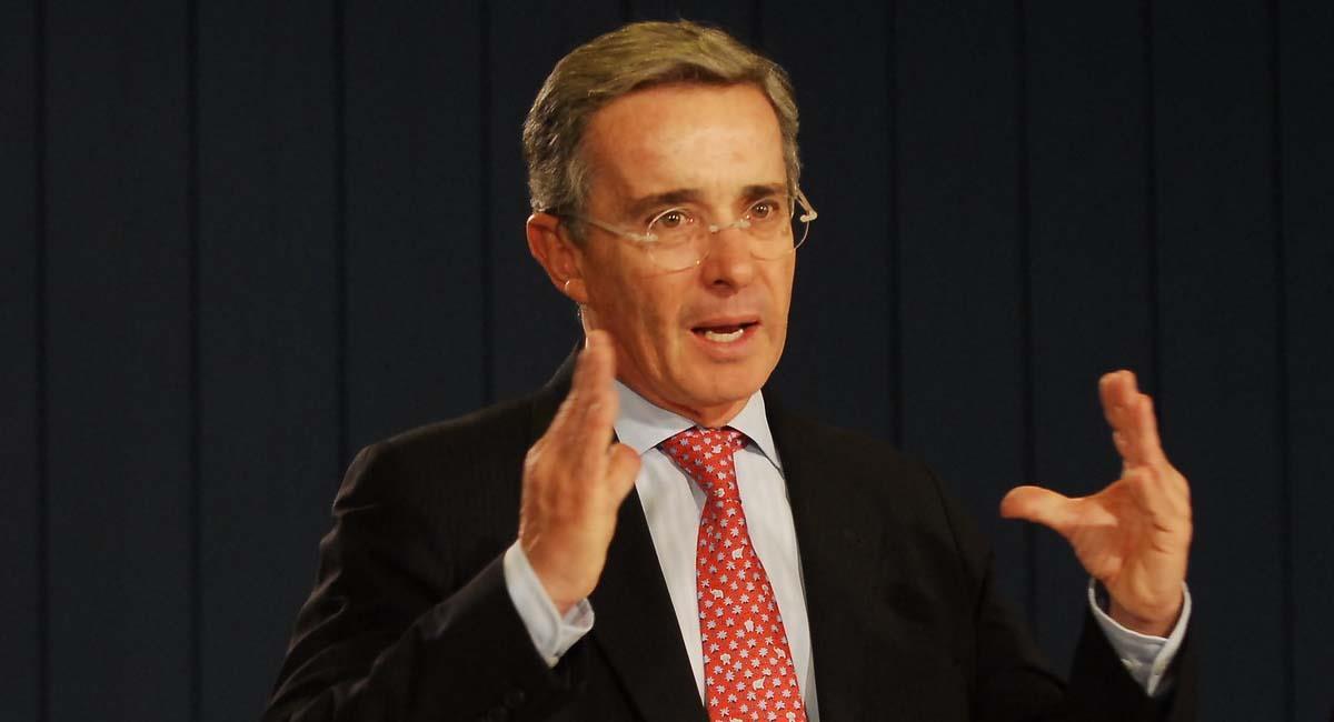 Álvaro Uribe durante su paso por la Presidencia de Colombia. Foto: Flickr