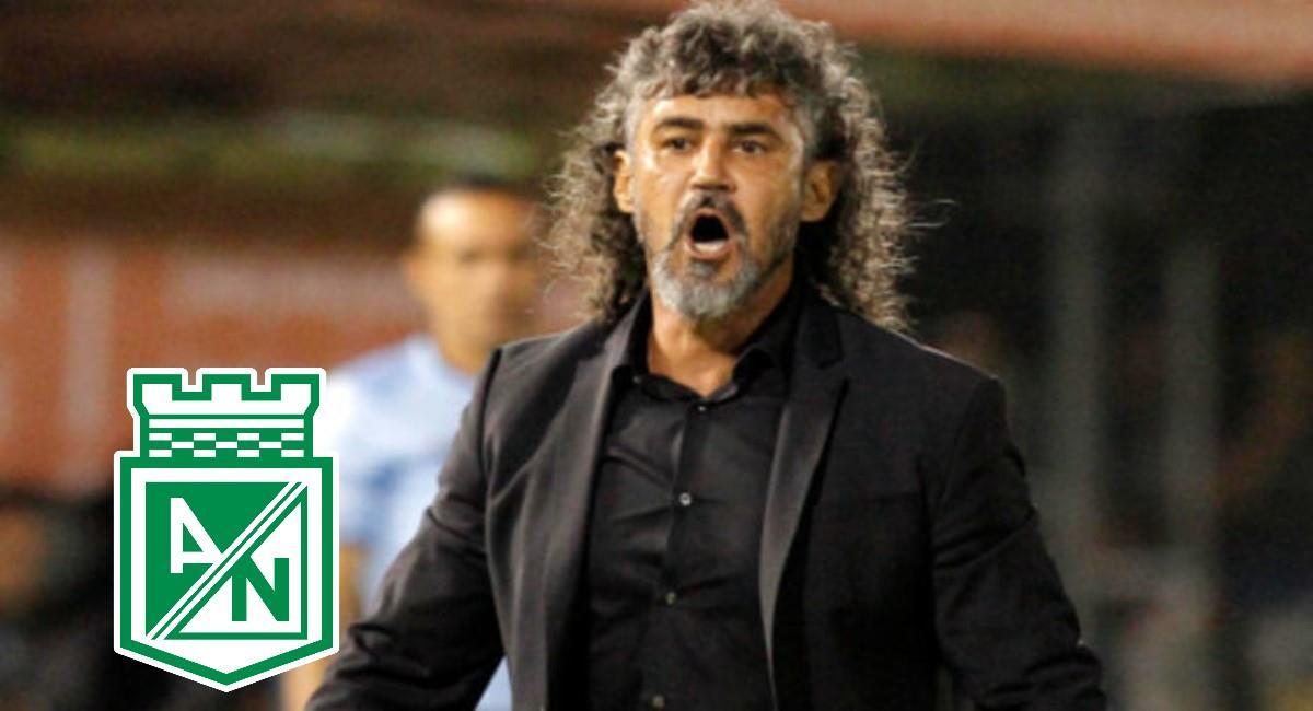 Leonel Álvarez expresó su deseo de dirigir a Nacional. Foto: Twitter Prensa redes Libertad.