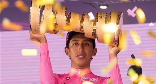 Egan Bernal declaraciones campeón Giro de Italia agradecimiento colombianos