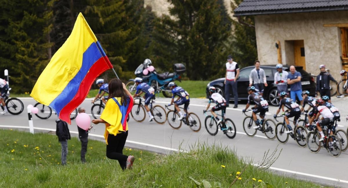 Sigue en vivo la etapa 21 del Giro de Italia. Foto: Twitter Prensa redes Giro de Italia.