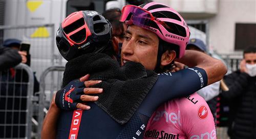 Giro de Italia Egan Bernal campeón relación Daniel Felipe Martínez Ineos Grenadiers