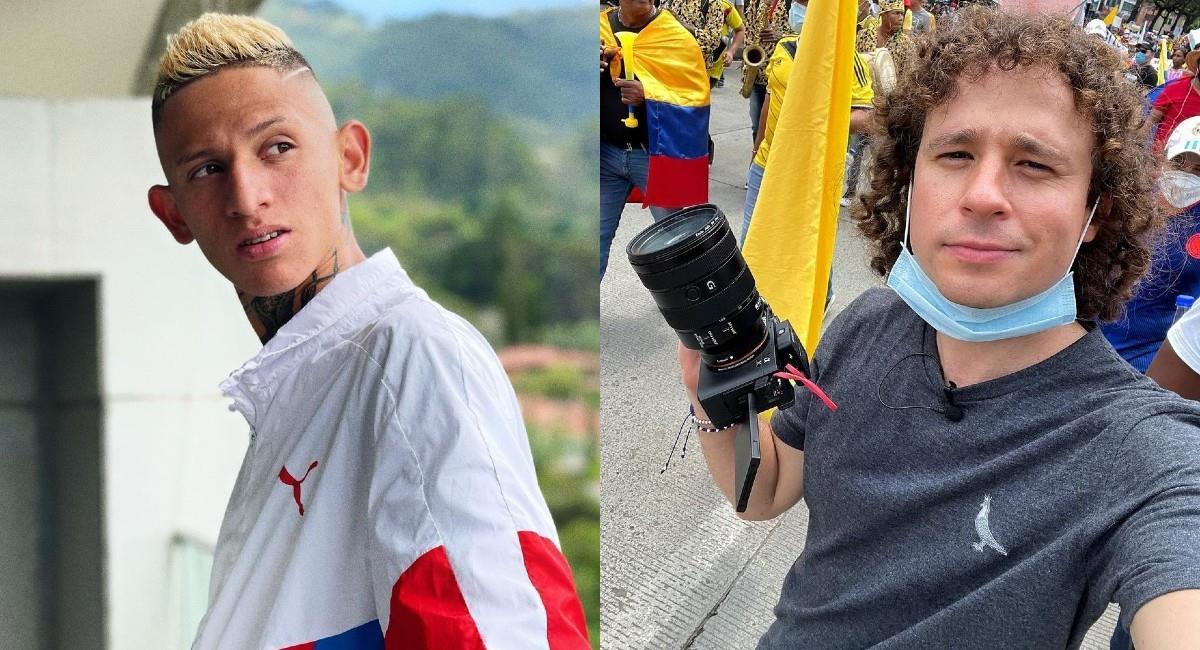 'La Liendra' recordó que él también estuvo en las marchas. Foto: Instagram