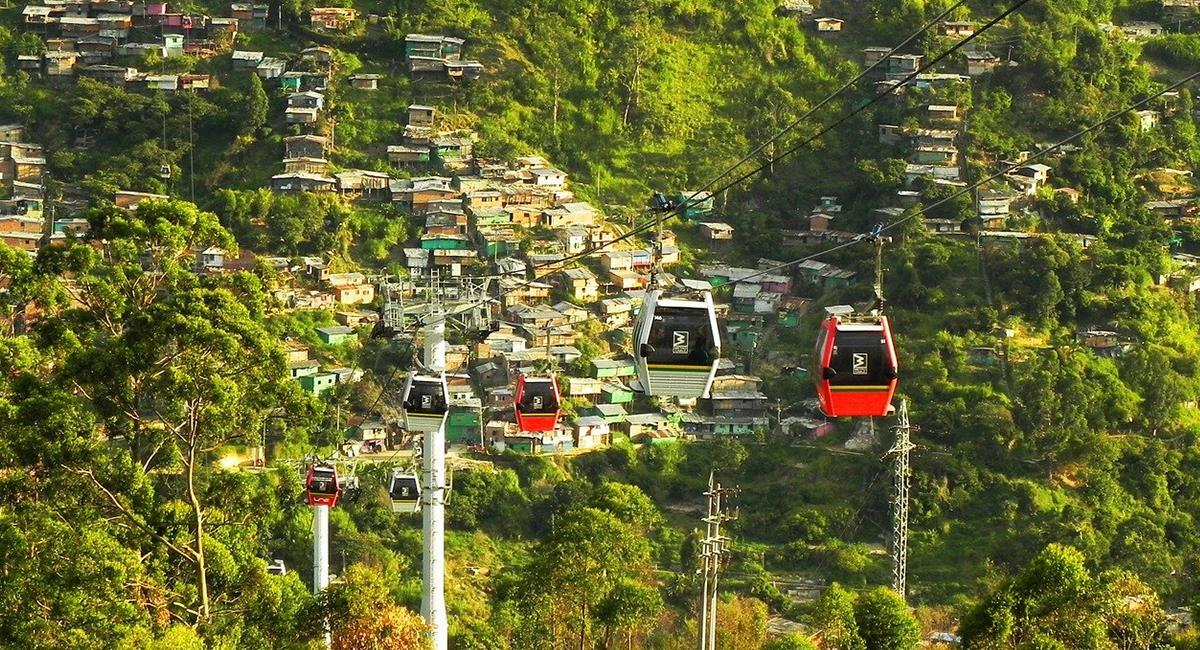 Medellín y Santa Marta, entre los destinos más solicitados por los viajeros. Foto: Pixabay