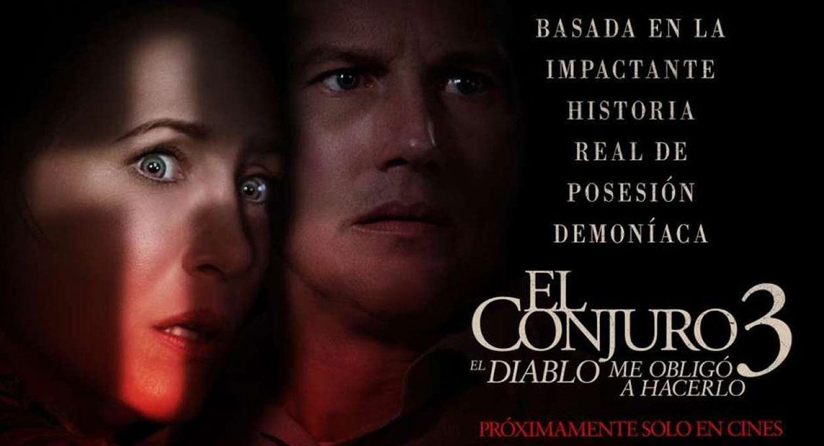 """""""El Conjuro"""" llegará al fin a las salas de cine de Colombia. Foto: Twitter @TheConjuring"""