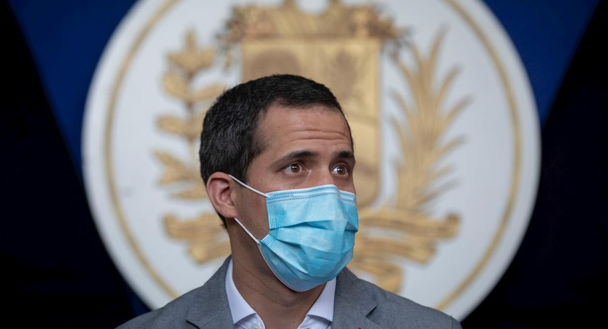 Juan Guaidó dice que Venezuela debe informar de la muerte de Santrich. Foto: EFE