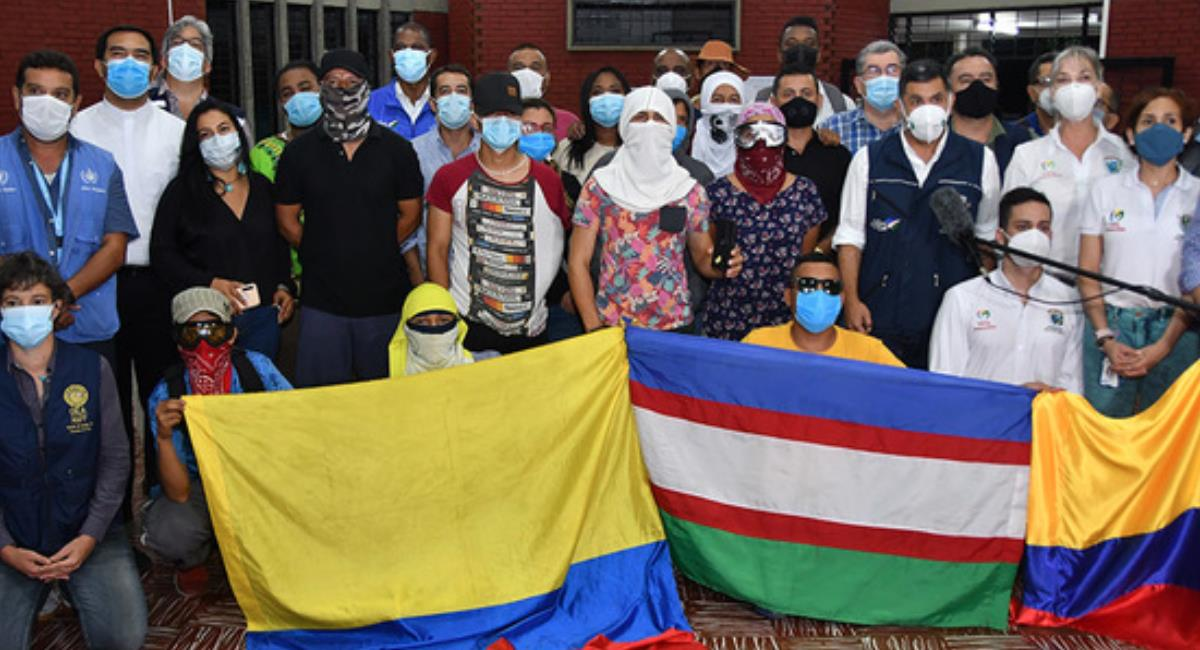 Cali pide que no haya presencia del ESMAD en manifestaciones pacíficas. Foto: Alcaldía de Cali