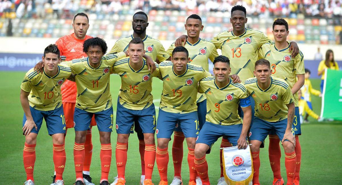 Falcao García y James Rodríguez cederán el brazalete de capitán de la Selección Colombia. Foto: Twitter @FCFSeleccionCol