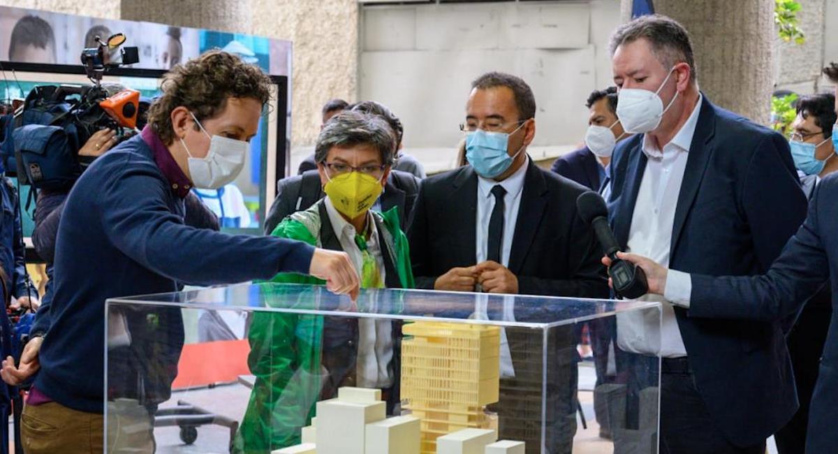 La Universidad Distrital tendrá un nuevo edificio para la facultad de Ingeniería. Foto: Alcaldía de Bogotá