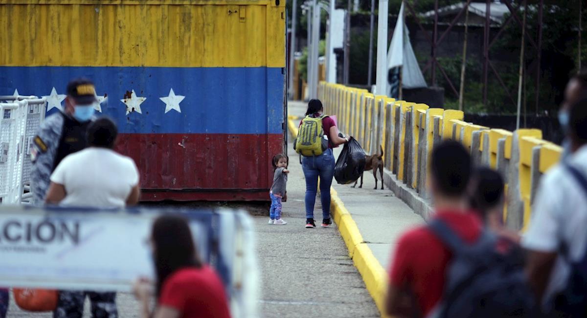 Venezuela se niega a abrir la frontera con Colombia. Foto: EFE