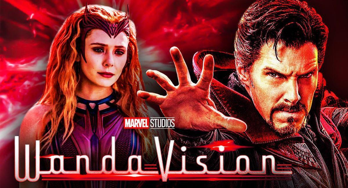 """""""WandaVision"""" contaba originalmente con un cameo de Doctor Strange. Foto: Twitter @MCU_Direct"""