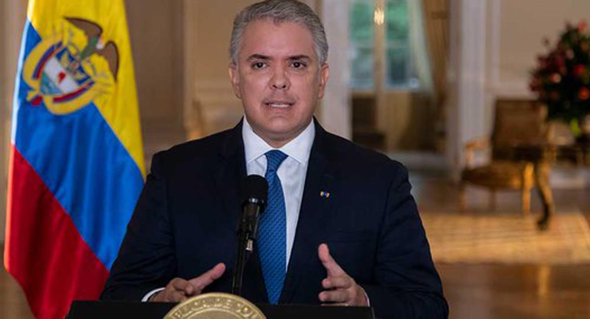 """El presidente Iván Duque no considera que los bloqueos sean un tema de """"trueque"""" y afirma que deben ser objeto de rechazo. Foto: Twitter @infopresidencia"""