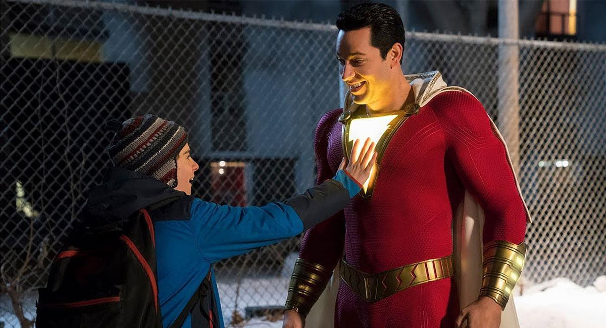 """La primera entrega de """"Shazam!"""" recibió buenos comentarios y tuvo una buena taquilla. Foto: Twitter @ShazamMovie"""