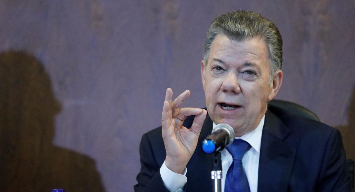 Juan Manuel Santos hablará sobre su periodo como Ministro de Defensa. Foto: EFE