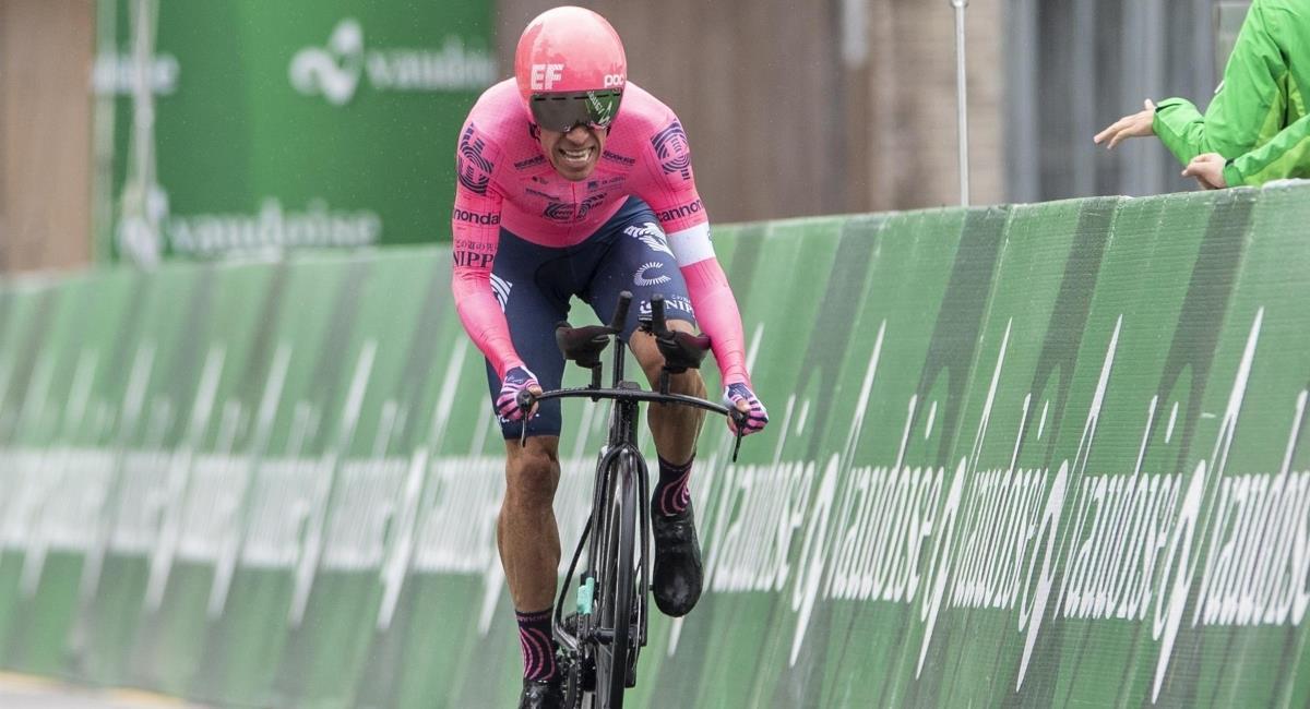 Rigoberto Urán el mejor colombiano en la Vuelta a Suiza. Foto: EFE