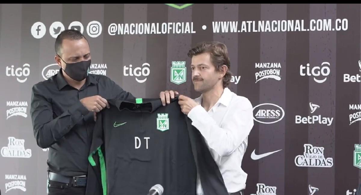 Alejandro Restrepo es el nuevo técnico de Atlético Nacional. Foto: Facebook