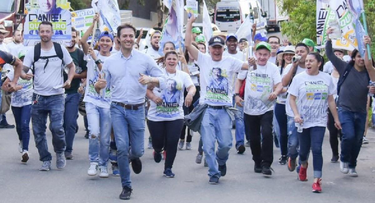 Daniel Quintero, Alcalde de Medellín. Foto: Twitter