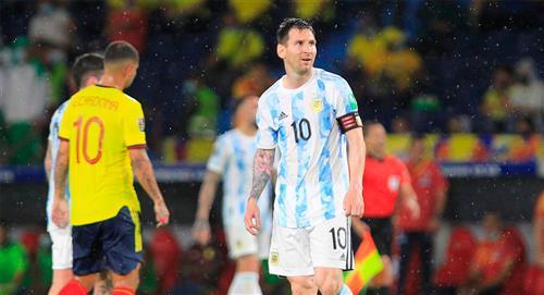 Así vio la prensa argentina el empate ante Colombia