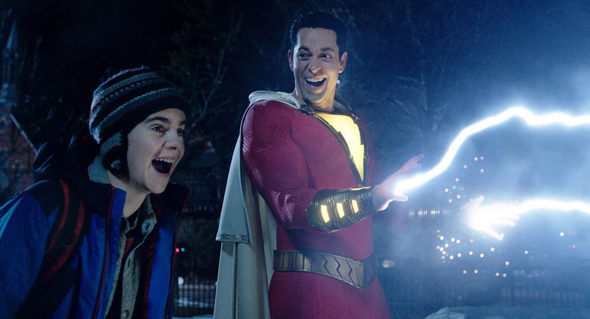 """""""Shazam!"""" se estrenó en 2019 y fue un gran éxito en taquilla. Foto: Twitter @ShazamMovie"""