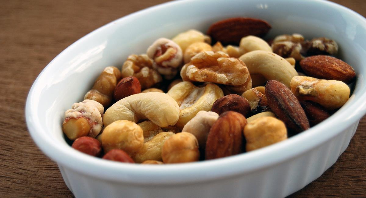 La combinación de los frutos secos te ayudará a mejorar los niveles de grasa saludable en el organismo. Foto: Pixabay