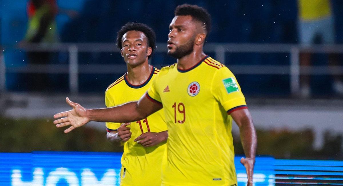 Cuadrado y Borja harán parte de la Selección Colombia en la Copa América. Foto: Twitter @FCFSeleccionCol