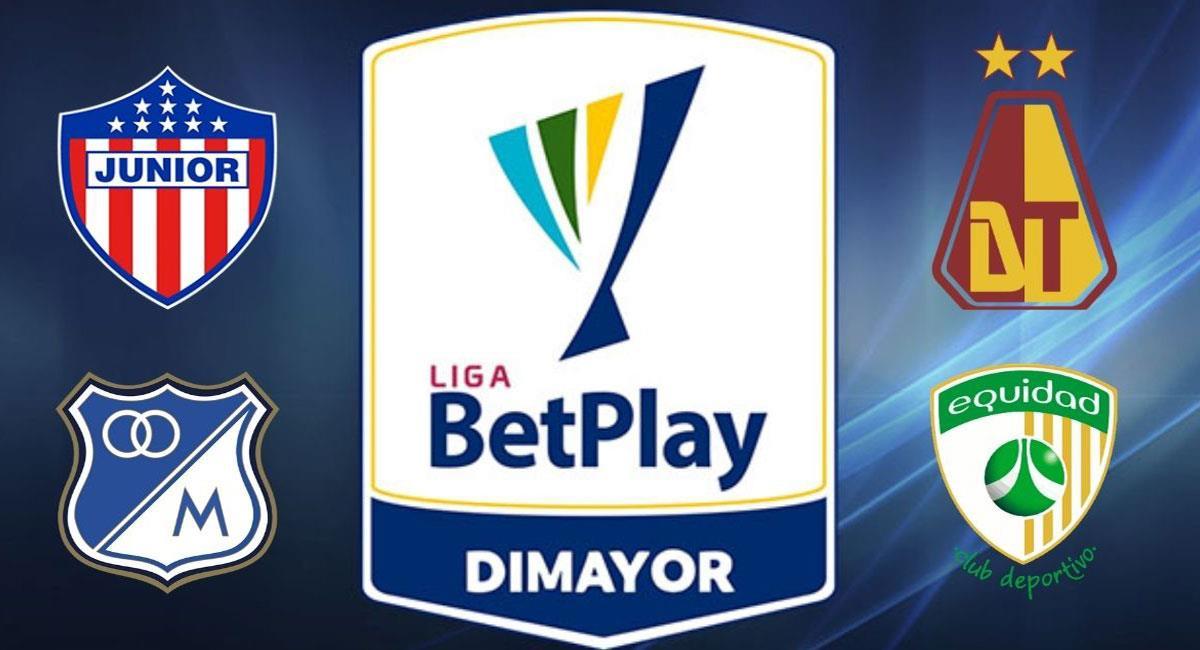La Liga BetPlay Dimayor entra en su fase de definición. Foto: Twitter @Dimayor